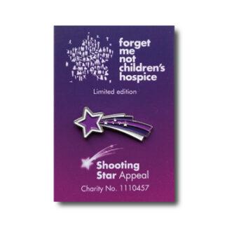 shooting star badge